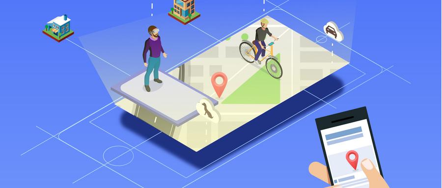 企业品牌树立地图标注